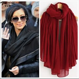 Accessories - Draped Scarf